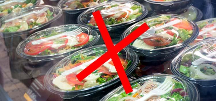 AVOID PACKAGED FOOD