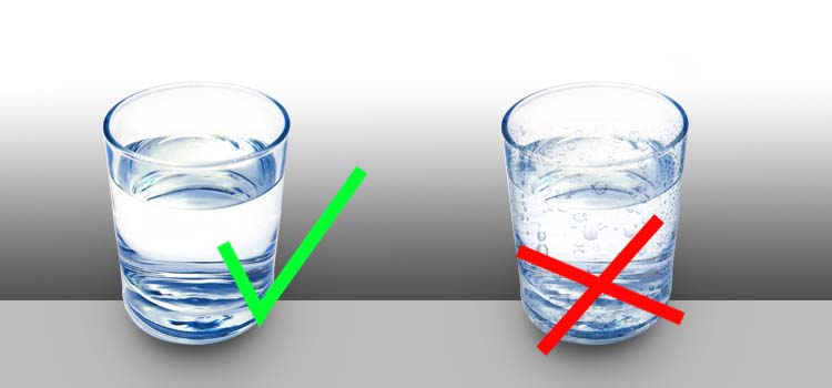 HAVE WARM GLASS OF WATER AVOID COLD WATER